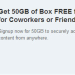 Box.com – 50 гигабайт нахаляву