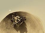 Путь марсохода Curiosity